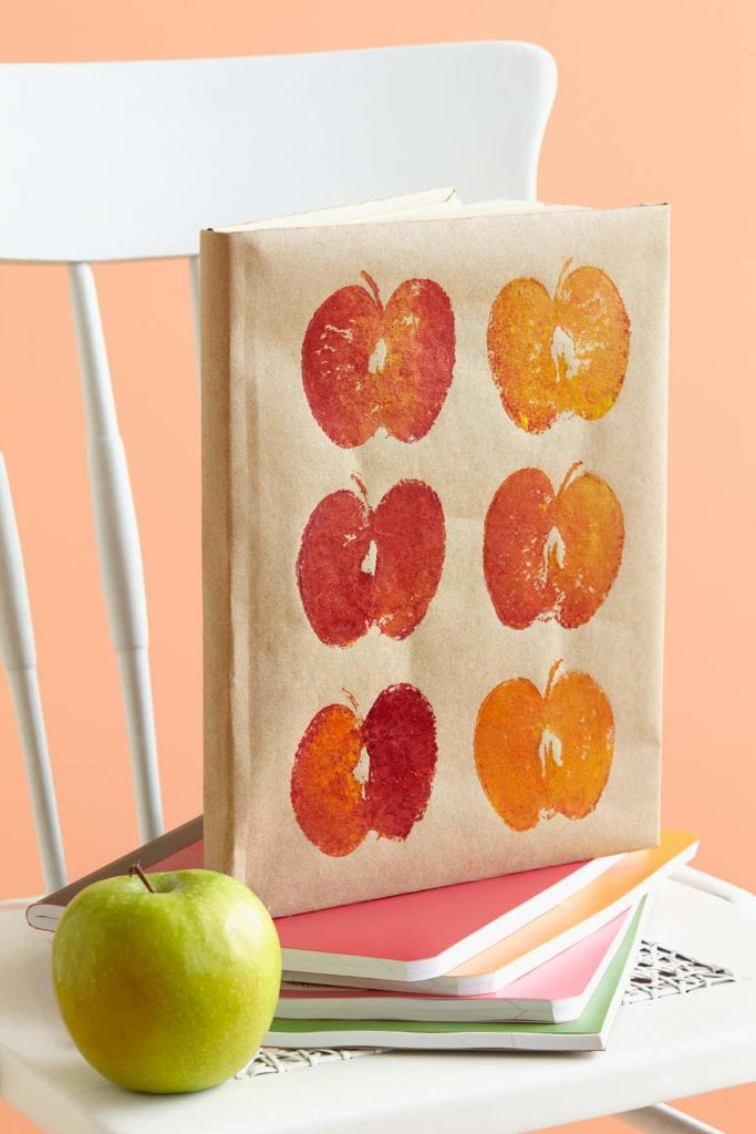 Apple journal book cover